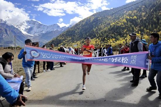 西藏林芝首办半程马拉松赛