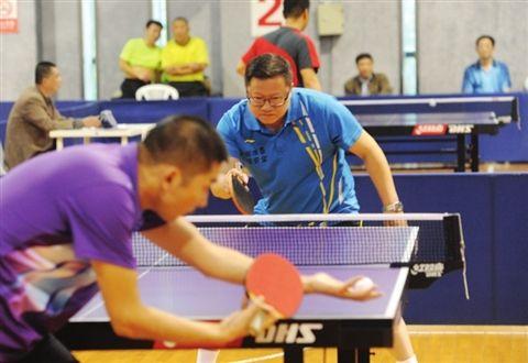 苏州百名报人挥拍赛乒乓 23支代表队参赛