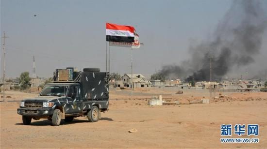 伊拉克政府军解放舒拉镇(图)