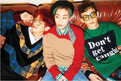 EXO首支分队EXO-CBX虾米音乐独家发售首张迷你辑《Hey Mama!》
