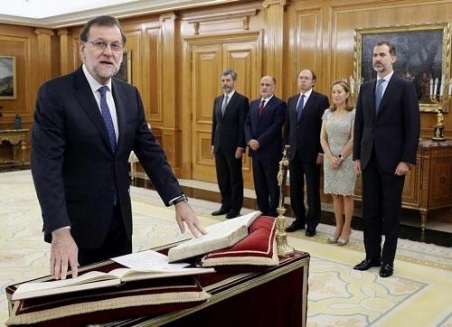 拉霍伊连任西班牙首相少数派政府执政或困难重重