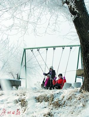 挑战寒冷  当季美景限时赏