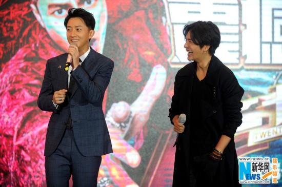 与韩庚回归《二十四小时2》 陈坤盼与黄渤合作