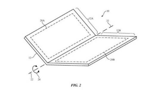 用在iPhone上!苹果再获得可折叠手机专利