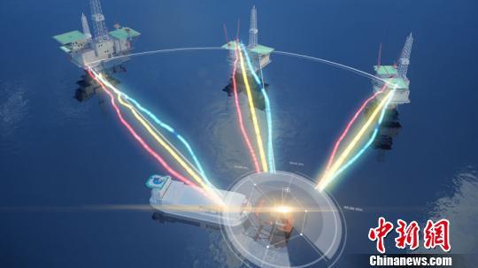 中广核海上核电站设计概念图中广核摄