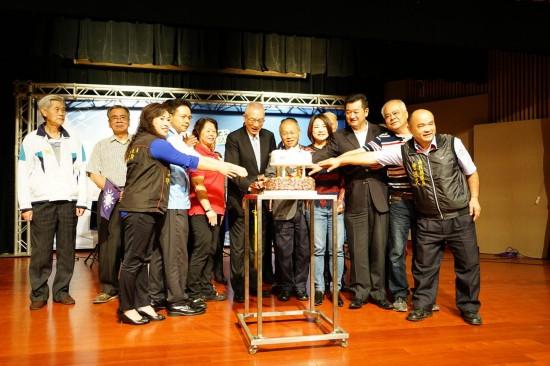 吴敦义:国民党责任未了,必将再起。(图片来源:台湾《联合报》)