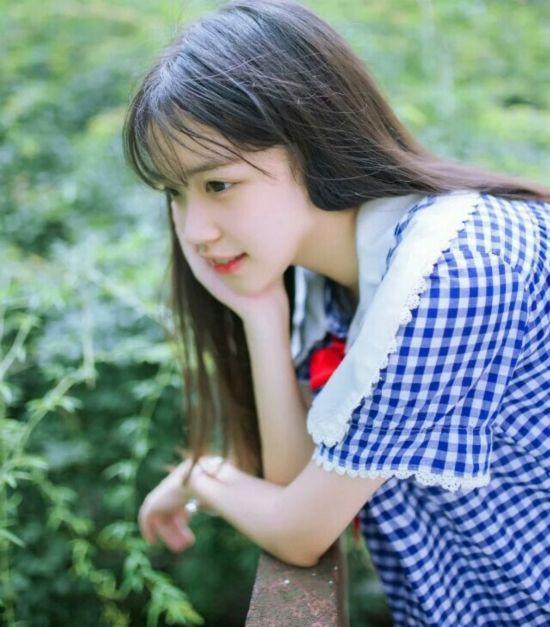 16岁川妹子艺考生晒照 00后女神已上线