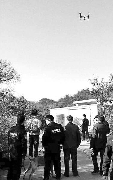四驴友封门村探险迷路 沁阳警方出动无人机搜救