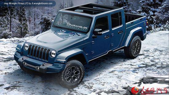 Jeep新代牧马人曝光 或明年1月发布