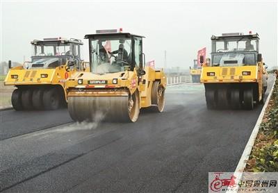 徐明高速公路江苏段加快建设 年底前基本完工