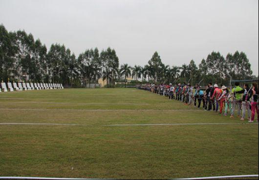 全国射箭合同青少年训练营开营印度板球联赛转播项目图片