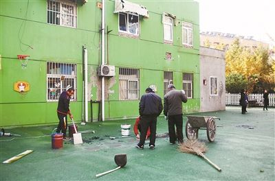 徐州一幼儿园边装修边教学 不少学生请假回家
