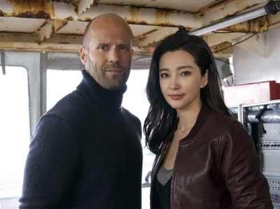 李冰冰确认加盟好莱坞电影《巨齿鲨》,搭档杰森·斯坦森,影片