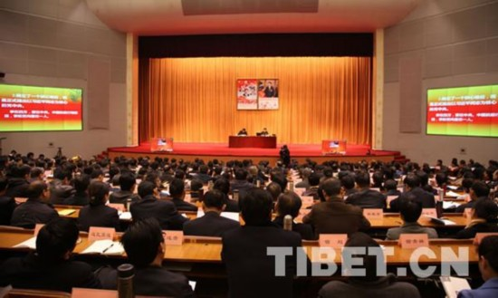 中央宣讲团赴藏宣讲党的十八届六中全会精神