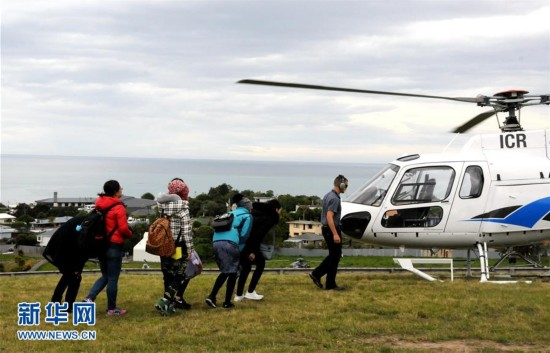 新西兰南岛7.5级地震 被困中国游客获救