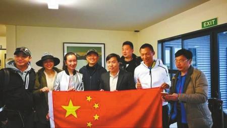 中国使领馆调直升机救助被困新西兰重震区中国游客