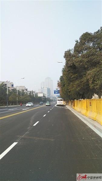 经过施工单位昼夜赶工 徐州苏堤南路恢复通车