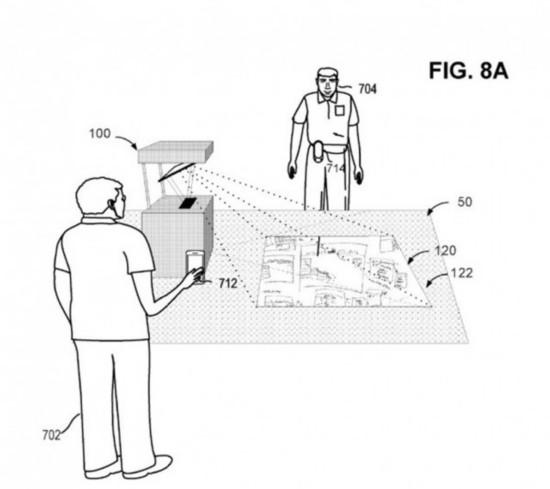 微软获得投影新专利:用手势即可操纵