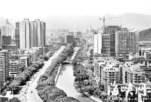 晋安河是此次内涝治理的重点,泄洪能力将大幅提升