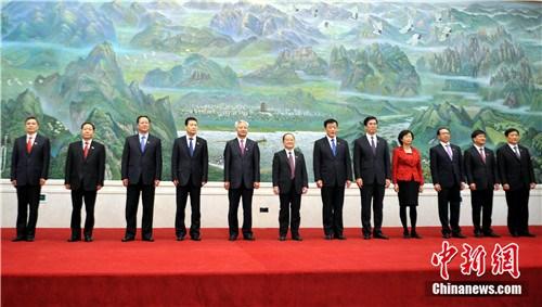 新一届中共江西省委常委名单出炉鹿心社当选省委书记