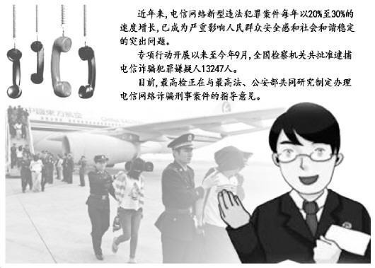 检察机关严惩重大电信网络诈骗犯罪提前介入引导取证