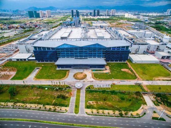 厦门联芯集成电路制造厂房位于厦门市翔安区