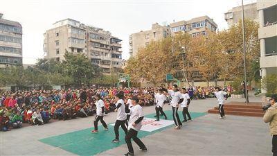 """徐州中山外国语实验学校率先试点""""街舞进校园"""""""