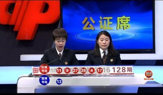 双色球第16128期同期爆2个3千万级巨奖