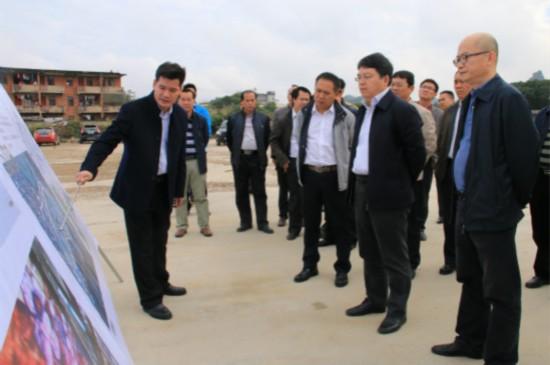 孙大光在江州区调研:推进旅游+城市建设 发展