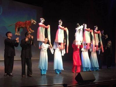扬州文化相继出国门 扬州木偶在德国叫人称绝
