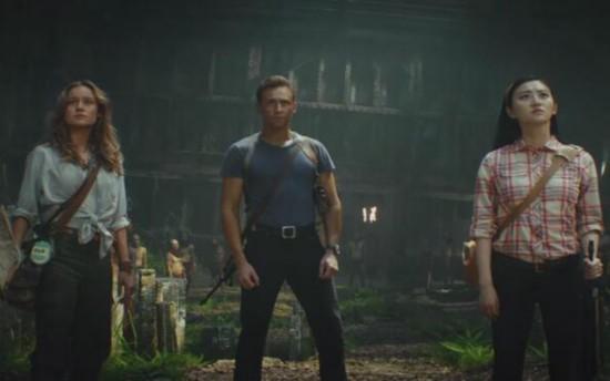 《金刚:骷髅岛》曝海报 抖森景甜踏上冒险之旅