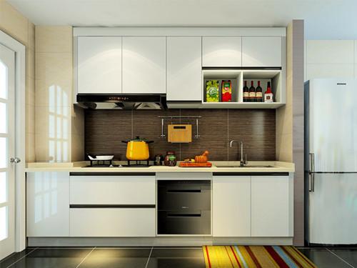 现代厨房这样装 简约也能玩儿出花样