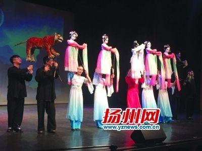 江苏扬州木偶制作已占全国70%市场份额