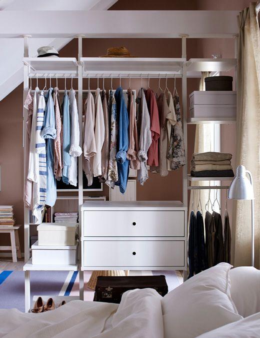 小居室就该需要这样一个衣柜