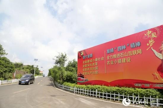 海南首个互联网农业小镇石山镇