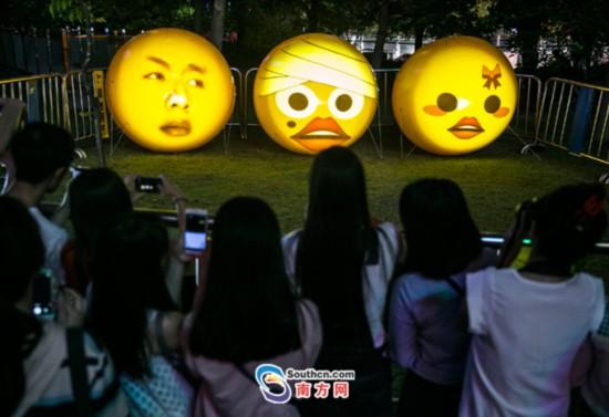 表情国际--高空鸟瞰广州仓鼠灯光节灵魂包虐狗城市图片
