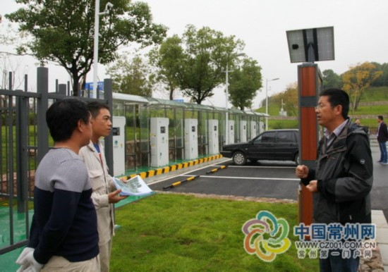 常州溧阳新能源汽车充电桩已形成覆盖网