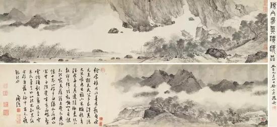 陈淳 白阳山居图