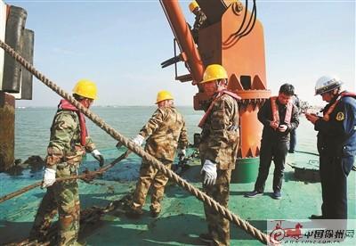 徐州航道管理处举行演练 提高应急处置能力