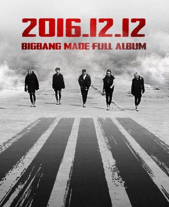 BIGBANG将于12月12日回归 恰逢成员胜利生日(图)