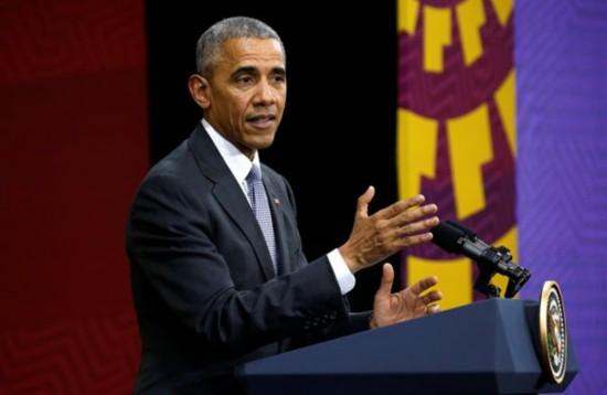 奥巴马喊话特朗普:道德方面你得跟我学
