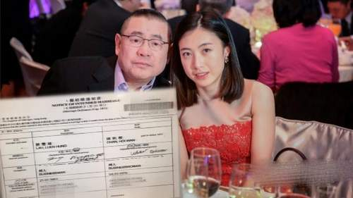 刘銮雄将与甘比结婚 吕丽君战败(组图)