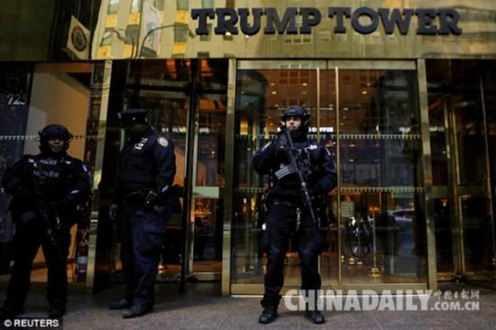 保护特朗普一家安全 纽约每天花费超百万美元