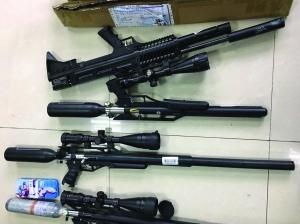蘇州警方循線追查破獲網絡特大販賣槍支案