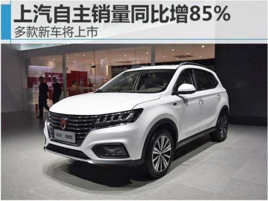 上汽自主销量同比增85% 多款新车将上市-图1
