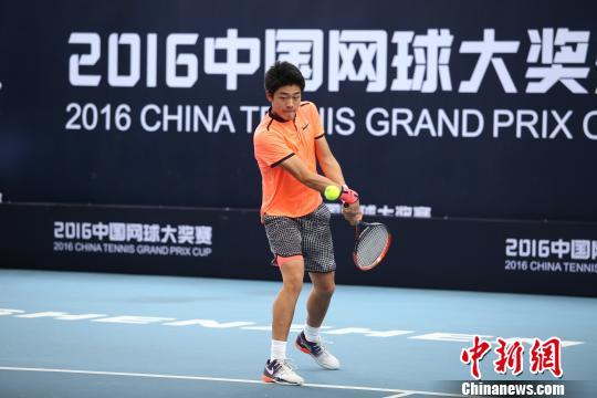 2016中国网球大奖赛落幕17岁小将吴易�m首夺男单冠军