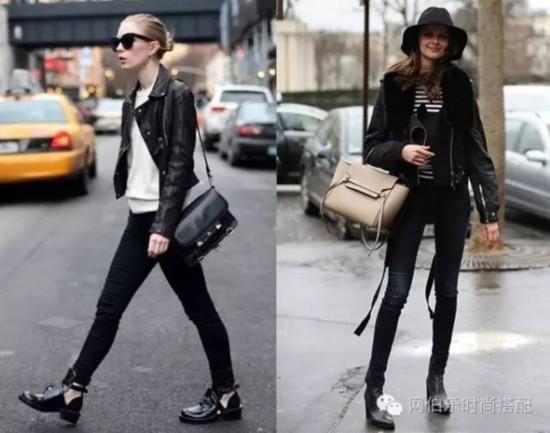黑色想要搭得酷,还得靠这4招!