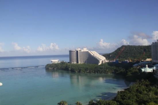 昕薇全能偶像大赛真人秀 在太平洋中美丽的关岛进行录制