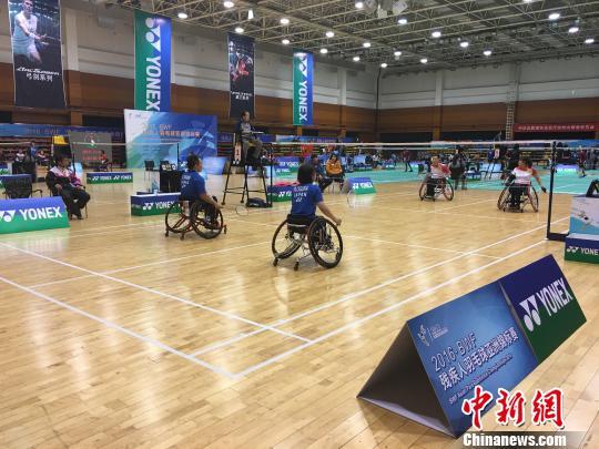 2016世界羽联残疾人羽毛球亚锦赛落幕中国收获八金