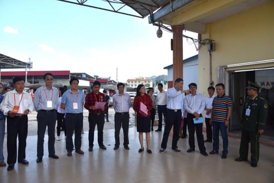 驻桂十二届全国人大代表到龙州开展集中视察活动